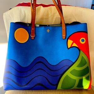 Authentic Tory burch limited edition tote bag